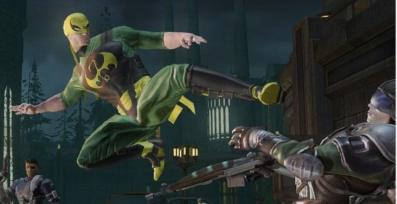 Iron Fist Joins Marvel Ultimate Alliance 2 Cast