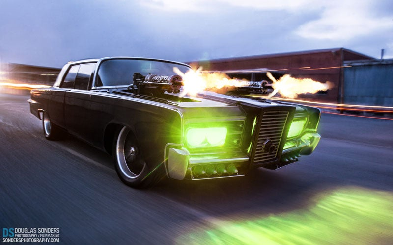 Your Free Green Hornet Black Beauty Wallpaper