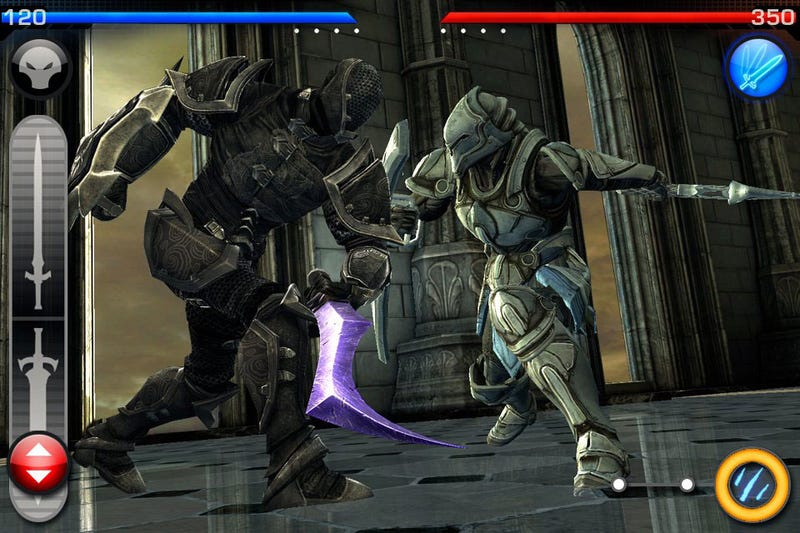 Infinity Blade: Arena Adds Multiplayer, Festive Headwear To Epic's Game This Thursday