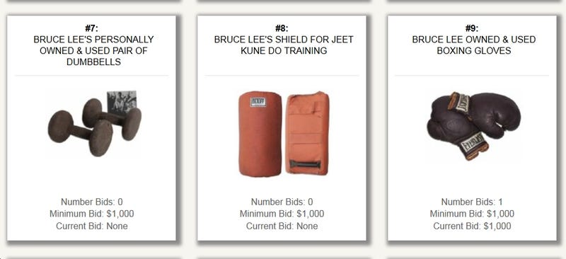 You Can Buy Bruce Lee's Old Workout Crap Right Now