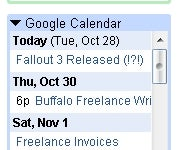 Gmail Labs Adds Google Calendar, Other Gadgets to Sidebar