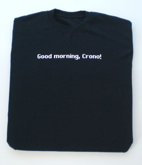 Win This Chrono Trigger Shirt. Right Now. [Update: Today's Contest Over]