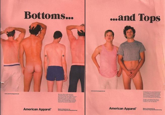 American Apparel Boy Pix, Unsplayed