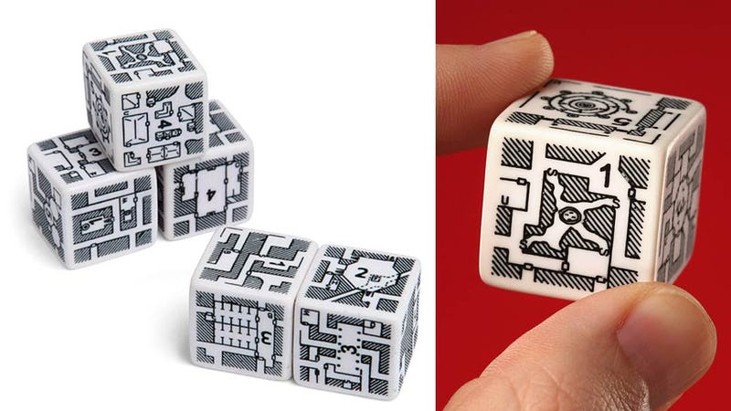 Dungeon Dice Let You Roll an Imaginary Adventure