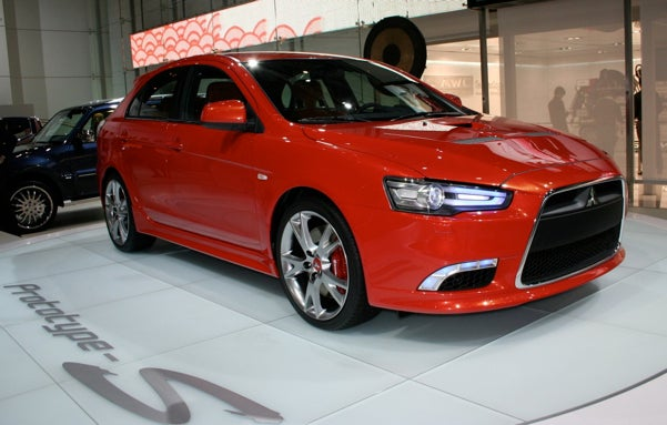 Mitsubishi Lancer Prototype-S Revealed in Geneva