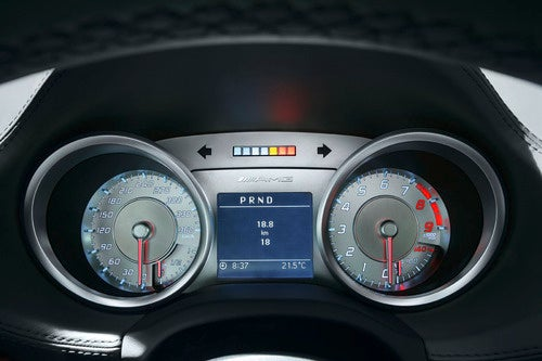 2011 Mercedes SLS AMG Interior