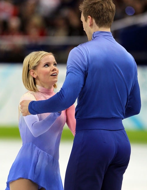The Bubble Butts of the Olympic Ice