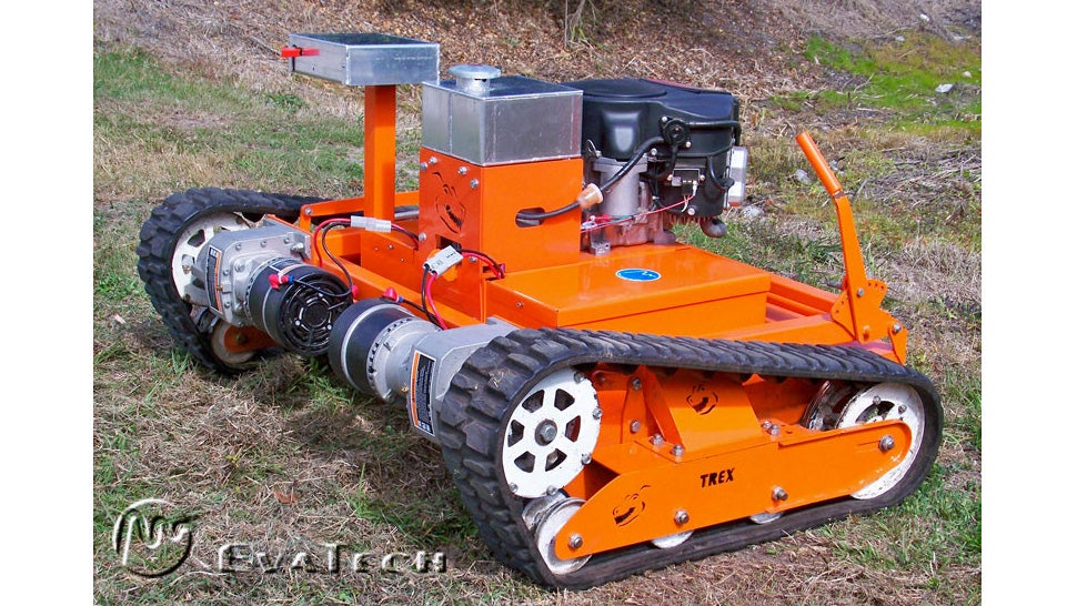 A Badass Remote Tank Mower That Could Probably Clear A Forest