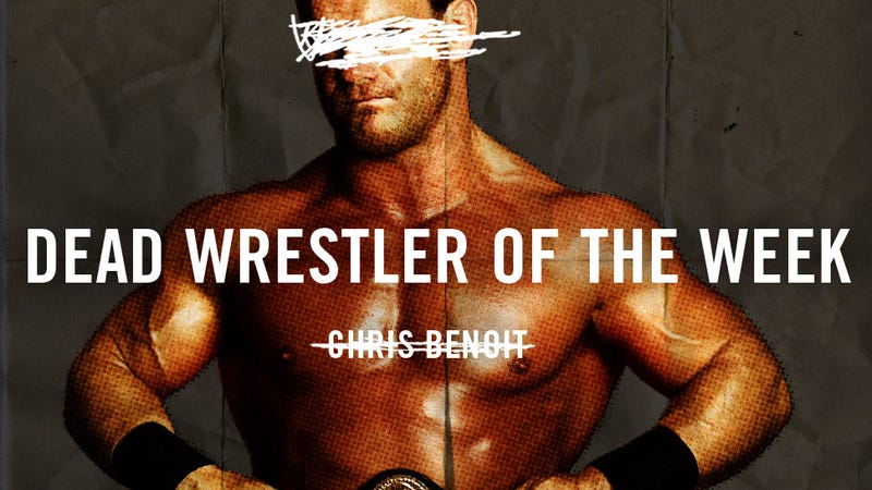Dead Wrestler Of The Week: Chris Benoit