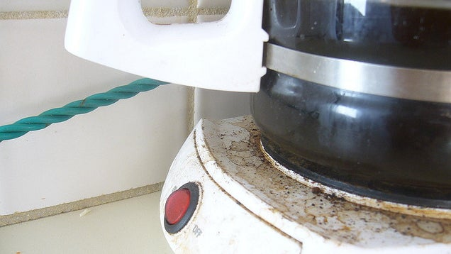 The Most Germ-Infested Item in the Office Might Be the Coffee Pot
