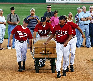 When Funerals And Minor League Baseball Collide