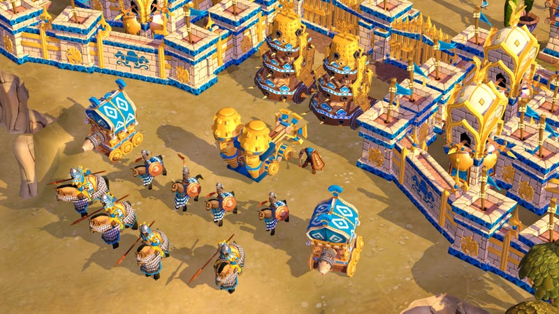 Age of Empires Online Gets Persians, Handful of New High-End Quests, Windows Phone App This Month
