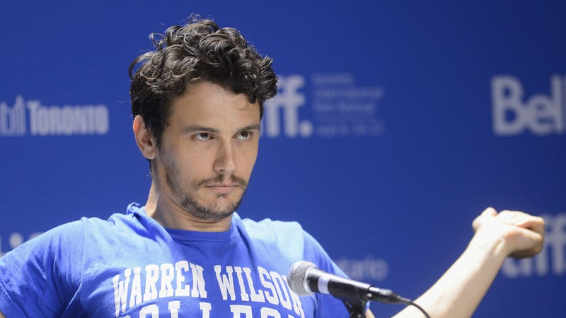 Handsome James Franco's Inauguration Poem Is All About Handsome James Franco