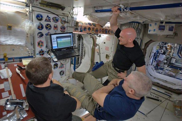 Here's How Astronauts Watch The World Cup From Space