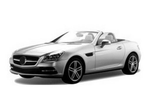 2012 Mercedes SLK Takes In The California Air