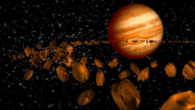 A wandering Jupiter stunted Mars's growth and reshaped the asteroid belt