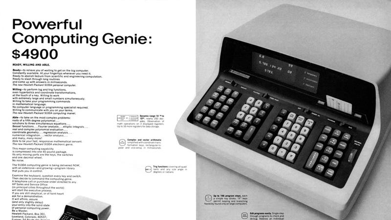 Once Upon a Time, HP Created the First Personal Computer