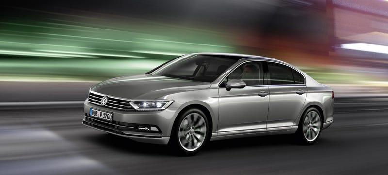 Europe's New Volkswagen Passat Is High-Tech Like A Baby Phaeton