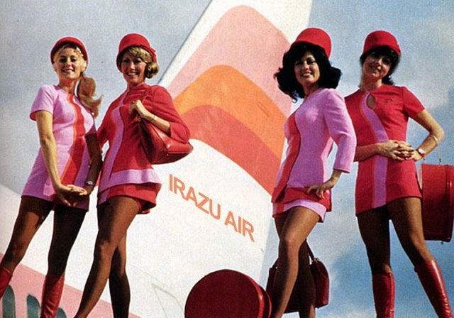 When Airplane Stewardesses Were All Glamour and Sex Appeal