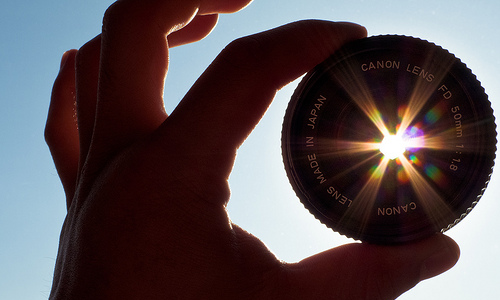 Take Pictures in the Late Afternoon for a Lens Flare Effect