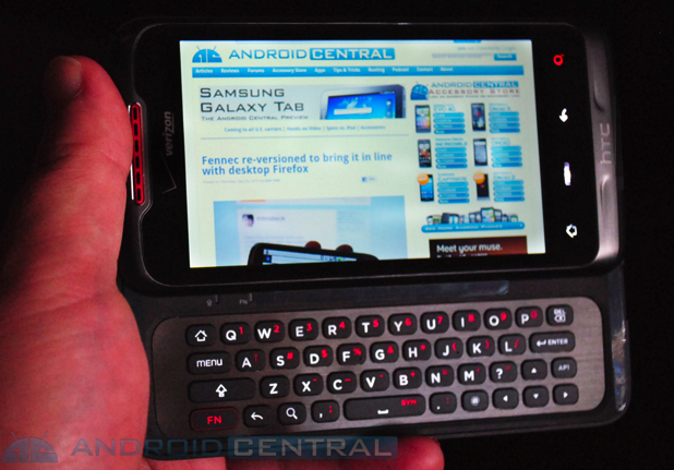 The Verizon HTC Merge Is a World Phone With a Slider Keyboard
