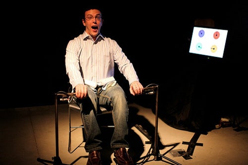 Tickling a Massage Chair With Twirling Wiimotes