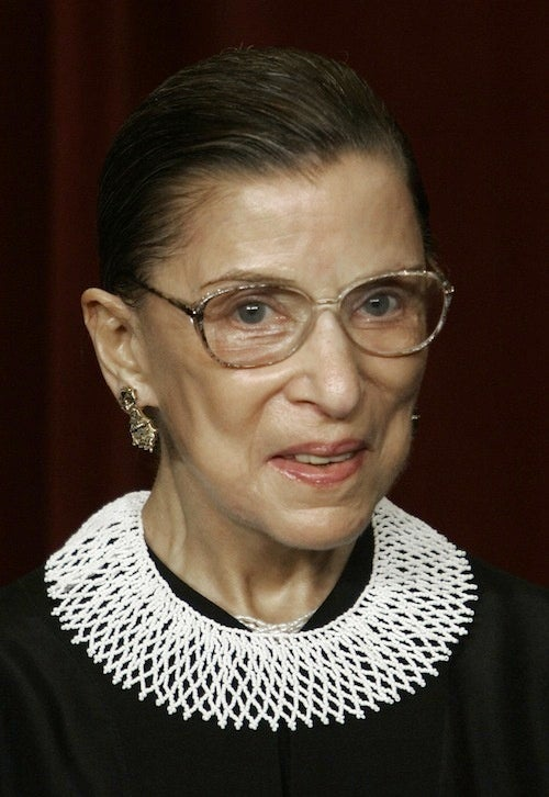 "Suck It, Jim Bunning: Ginsburg ""In Good Health"""