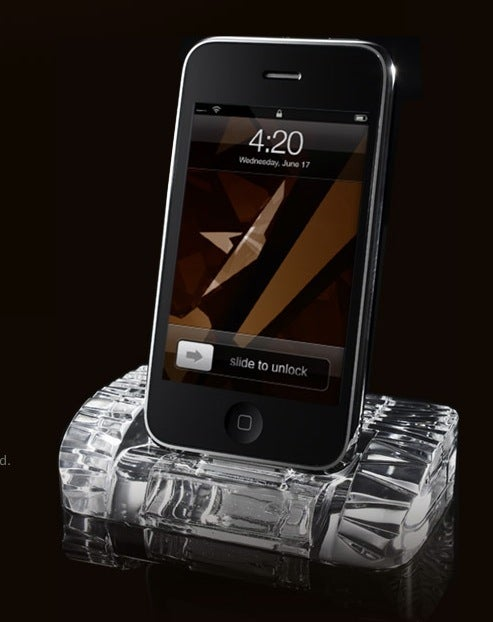 Your Grandmother Would Love This Crystal iPhone Stand