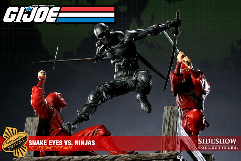 Sculpting Assassin's Creed, Hitman & GI Joe's Snake Eyes