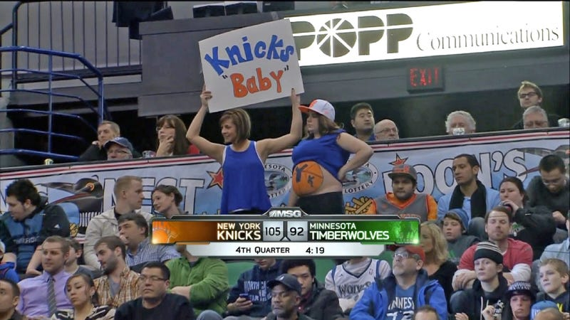 Most Knicks Fans Are Just Expecting To Be Disappointed
