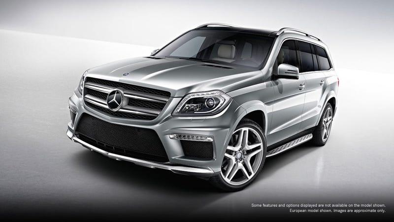 2013 Mercedes GL AMG Gallery