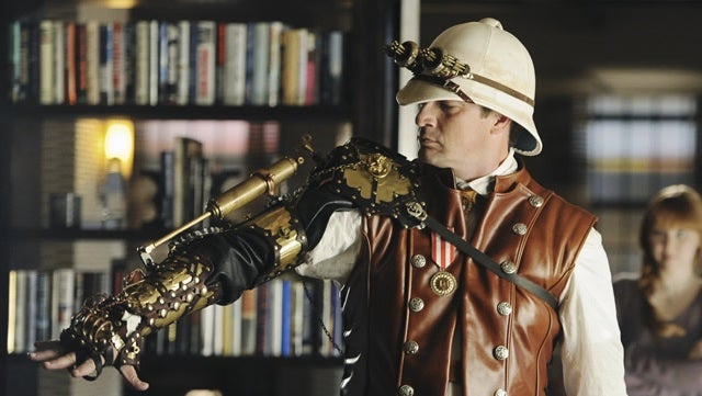 Buy Nathan Fillion's steampunk cybernetic arm from Castle