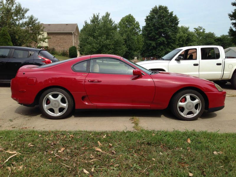 This FixerUpper MKIV Toyota Supra Turbo Needs A New Home