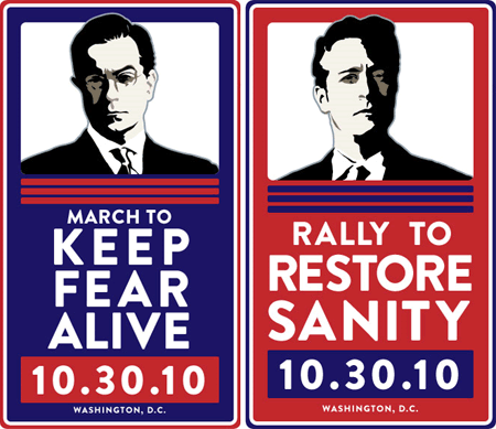 LIVE: Jon Stewart and Stephen Colbert's Rally to Restore Sanity and/or Fear
