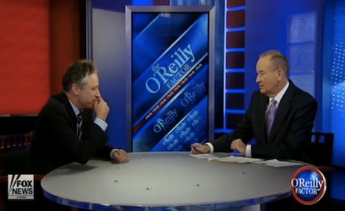 'I'm Not Saying Your Mother's a Whore': How Fox News Censored Jon Stewart vs. Bill O'Reilly