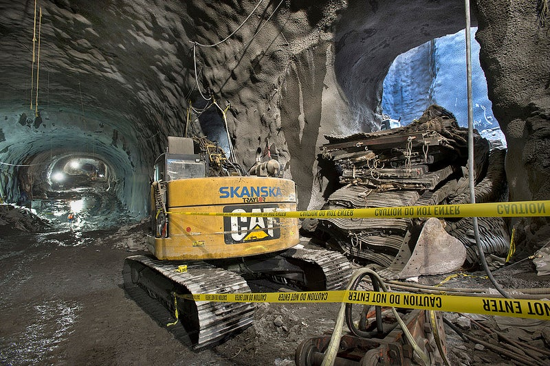 Así se construye una gigantesca estación de metro bajo Nueva York