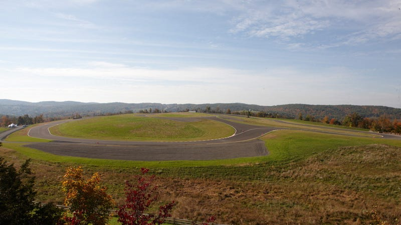In his front yard, this man built America's largest private racetrack