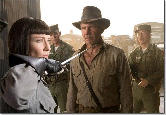 Cate Blanchett Wants An Indiana Jones-Kebab