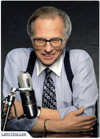 "More On ""The Secret"": Larry King Drinks The Kool-Aid"