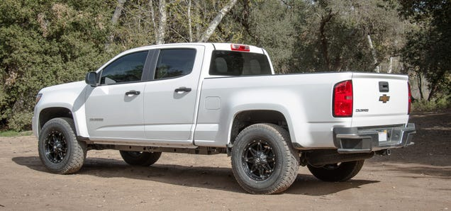 This Unofficial 2015Chevy Colorado ZR2 Is Your Cheap Mini-Ford Raptor