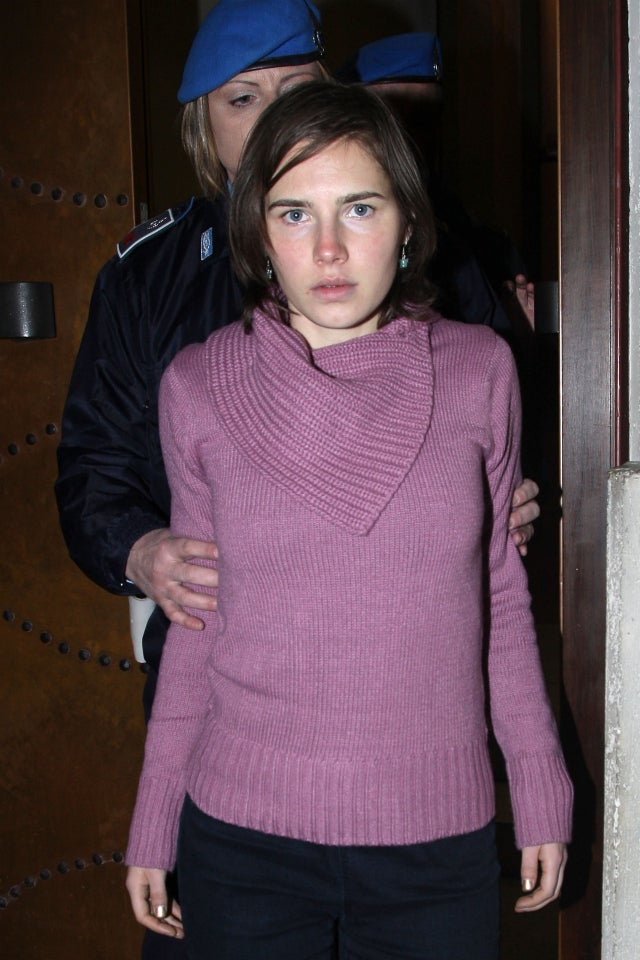 Introducing the Walking, Talking Amanda Knox Doll