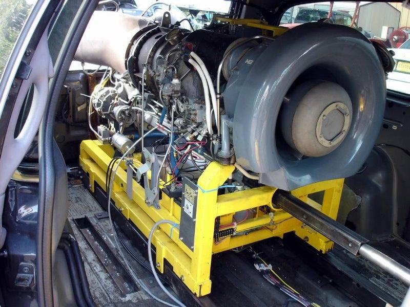 Jet-Powered Minivan Is Probably Batman's Aunt's Car