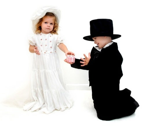 5-Year-Old Boy and 3-Year-Old Girl Engaged to Be Married