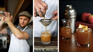 Flannel Shirt: Cider and Scotch Combined for the Perfect Fall Cocktail