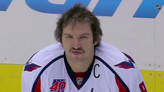 Hey, Look At Alex Ovechkin's Killer Mustache