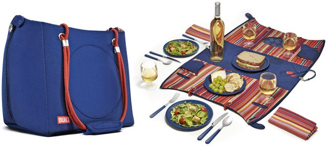 There's a Fully Accessorized Picnic Blanket Hiding Inside This Bag