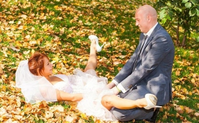 Russians Have The Bizarre Wedding Photo Game On Lock
