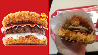 A Good, Horrible Look at Korea KFC's Double Down