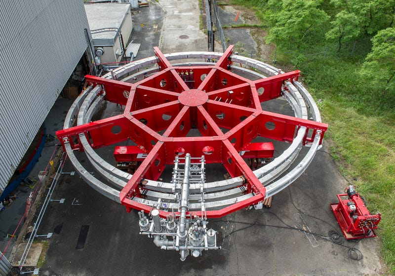 Fermilab Hunts Rare Subatomic Particles With This 50-Foot Electromagnet