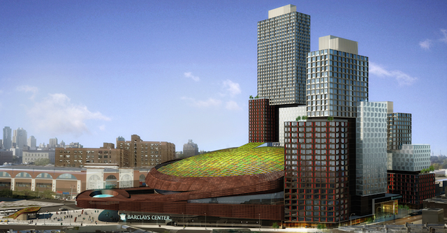 The Barclays Center's New Green Roof Will Muffle the Rave Noises